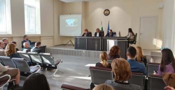 Отчетоха дейността на Районните съдилища