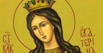 Почитаме Света Екатерина - покровителката на майките