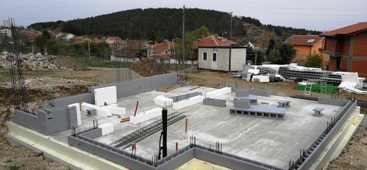 Първата в страната нулевоенергийна еднофамилна къща се изгражда в Богомилово