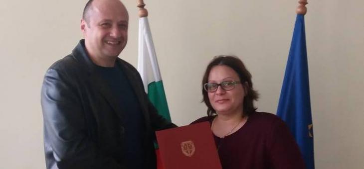 Старозагорски прокурор с награда от Цацаров
