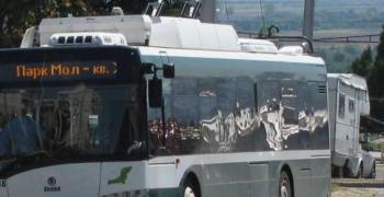 Три тролейбусни линии с обходен маршрут в празничния 24 май