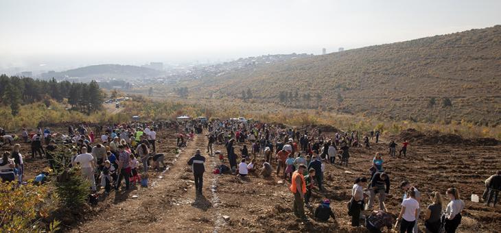 Хиляди старозагорци се обединиха за Зелена Стара Загора