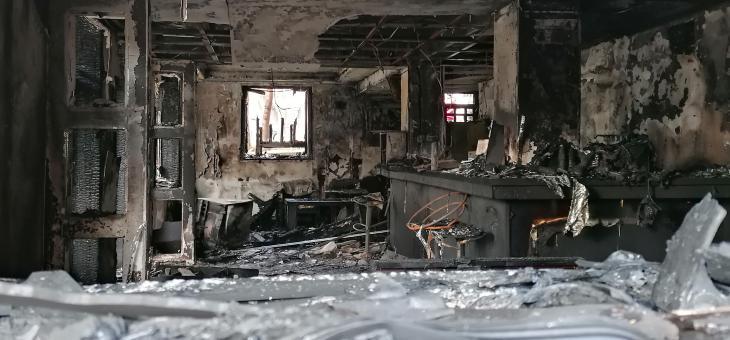 Изгоря заведение в Стара Загора, има щети по съседни апартаменти (ОБНОВЕНА)