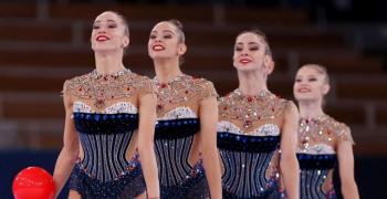 Нова победа и рекорд за ансамбъла по художествна гимнастика